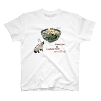 たぬきうどんと解せないたぬき(京都) T-Shirt