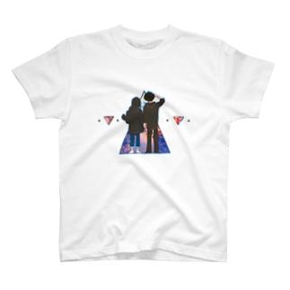 カレカノTシャツ T-shirts