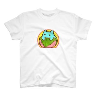 桜餅【水星人のスイスイちゃん】 T-shirts
