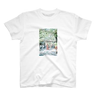 私のロック画面シリーズ T-shirts