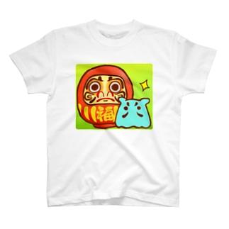 だるま【水星人のスイスイちゃん】 T-shirts