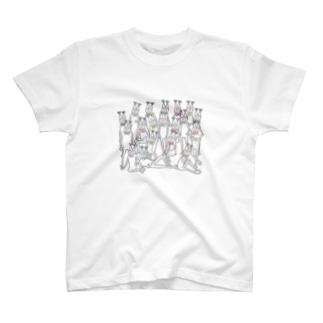 ねこざいる T-shirts