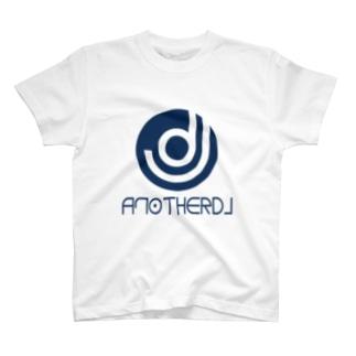 yoshiopcのanotherDJ_BLUE T-shirts