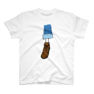誰かの足 T-shirts