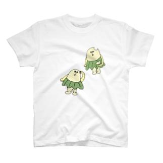柏原ちまき 〝おとぼけ〟 T-Shirt