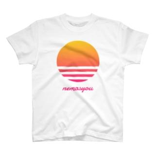 【寄付】nemasyou suns【イエロー】 T-Shirt