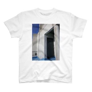 BLUE EXIT2 T-shirts