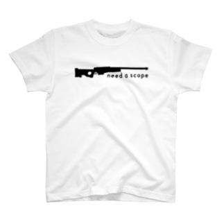 need a scope T-shirts