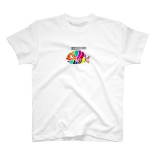 RAINBOW FISH  T-shirts