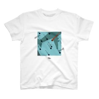 浮足と喧騒 T-shirts