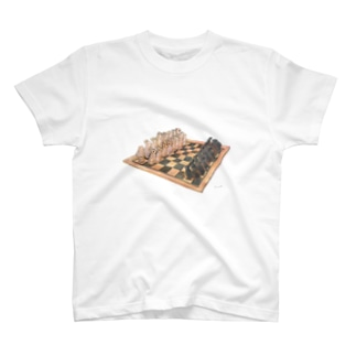 Rabbit chess T-shirts