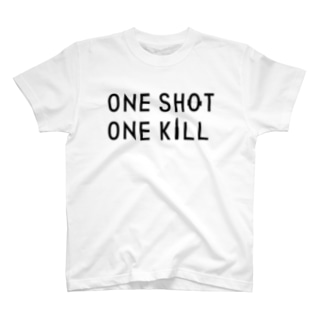ONE SHOT,ONE KILL T-shirts