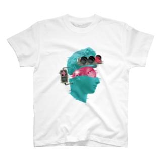カズシフジイのK collage01 T-shirts