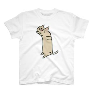 ぶらさがりねこ T-shirts