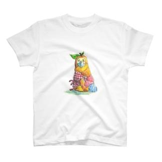 梨ピーヨグッズ T-shirts