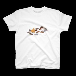SCHINAKO'Sのいたずらしたのは誰? T-shirts