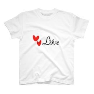 Love(らぶ) T-shirts