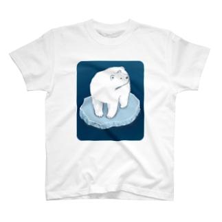 氷とクマ T-shirts
