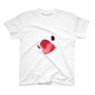 クローズアップ文鳥 T-shirts