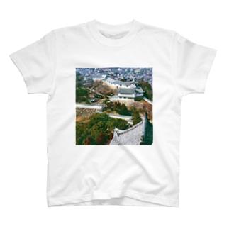 日本の城:姫路城 Japanese castle: Himeji Castle T-shirts