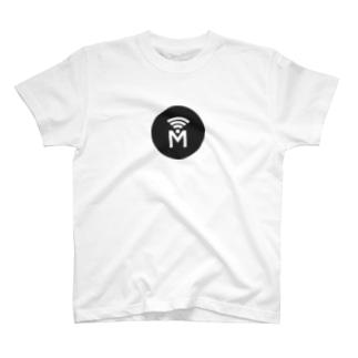 Mi3e Circle Black T-shirts
