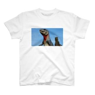 公園の恐竜 T-shirts