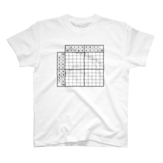 イラストロジック:Bone T-shirts
