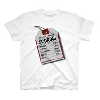 スコア・タグ T-shirts