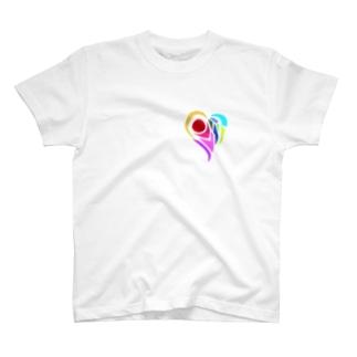 いびつなハート‐タッキー T-shirts