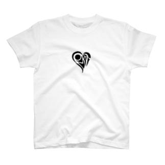 いびつなハート‐ダーク T-shirts
