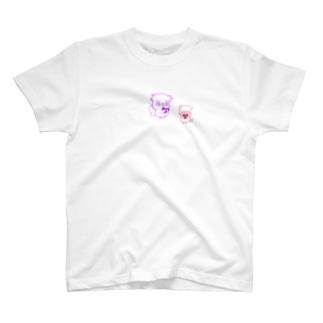 ふくろうくんとぶたちゃん T-shirts