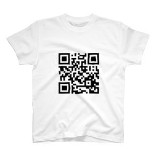 謎のQRコード T-shirts