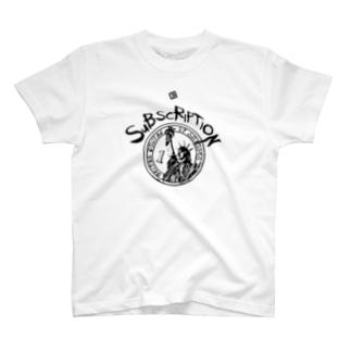 SUBSCRIPTION T-shirts