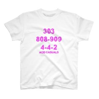 ACID CASUALS T-shirts