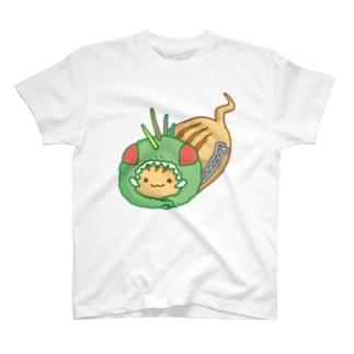 劇団UMAごっこ劇団ロゴイラスト T-shirts