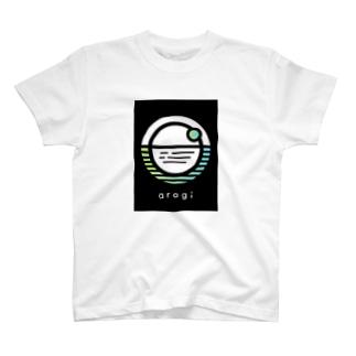arogi スタッフロゴTシャツ T-shirts