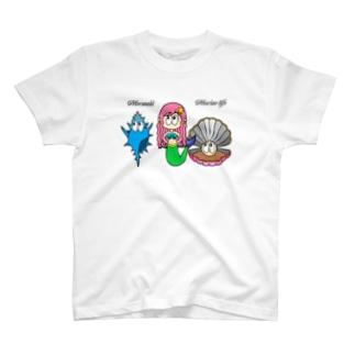 マーメイド/マリンライフ T-shirts