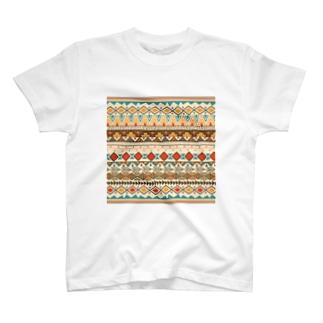 ネイティブ柄専門ショップのネイティブ柄A T-shirts