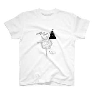 バレエ T-shirts