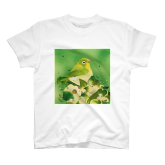 Green〜メジロ T-shirts