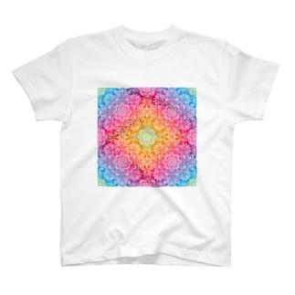 オルテガ柄H T-shirts
