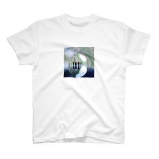 風景柄 T-shirts