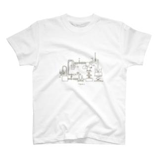 化学実験 T-shirts