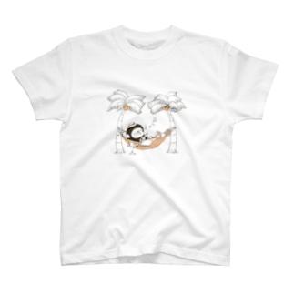 MINI BANANA ハワイアン T-shirts