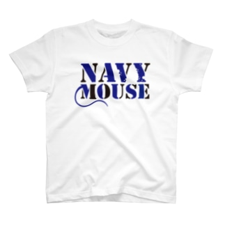 NAVY MOUSE T-shirts