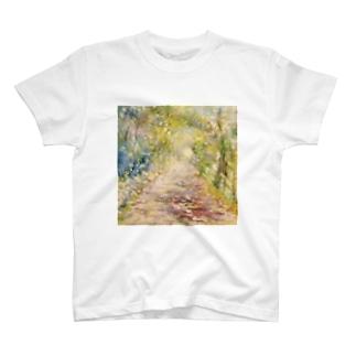 光の通り道 T-shirts