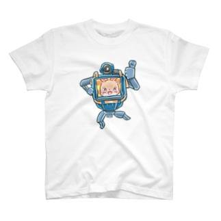 usaneロボット イラスト中 T-Shirt