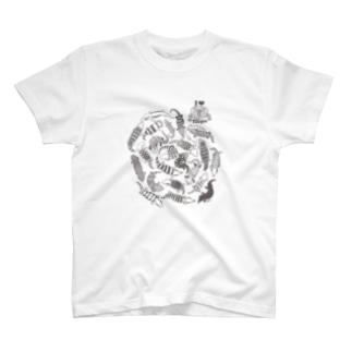 あおじただらけ T-shirts