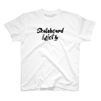スケボー馬鹿TEE T-shirts
