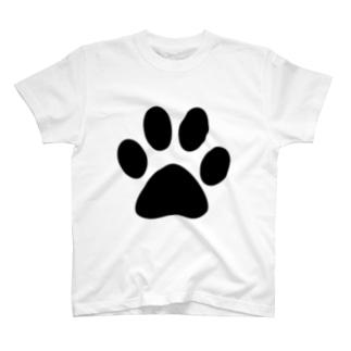 肉球 T-shirts